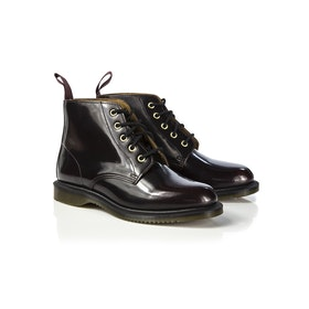 Dr Martens Emmeline 5 Eye Damen Stiefel - Cherry Red Arcadia