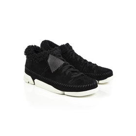 Scarpe Donna Clarks Originals Trigenic Flex Warm Lined - Black Nubuck