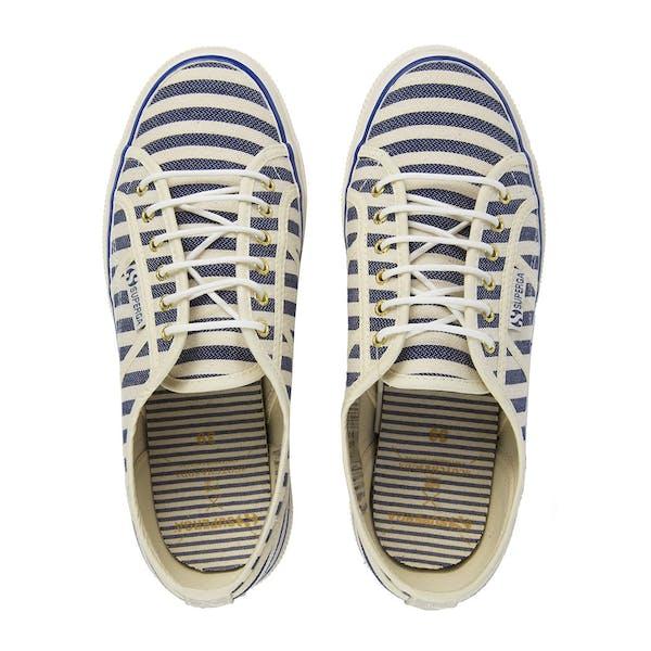 Maison Scotch Superga Classic Stripe Damen Schuhe
