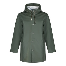Kurtka Stutterheim Stockholm Raincoat - Green