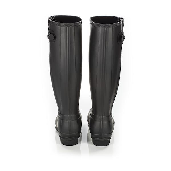 detailed look 77be1 a7446 Hunter Original Slim Textured Leg Women's Wellington Boots ...
