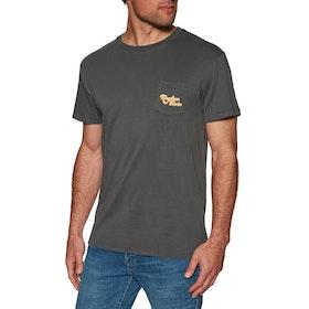 Rhythm Pocket Short Sleeve T-Shirt - Vintage Black