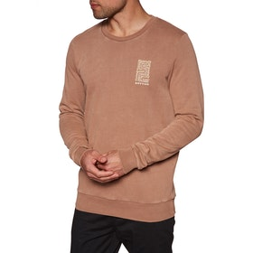Sudadera Rhythm Washed Out Pullover - Clay