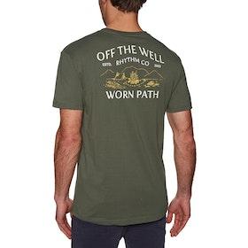 Rhythm Wilderness Short Sleeve T-Shirt - Olive