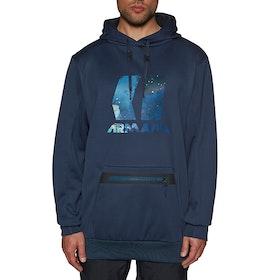 Armada Vortex Tech Fleece Pullover Hoody - Navy
