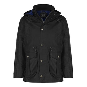 Country Attire Ellesmere Wax Jacket - Black