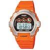 Casio W-214h-4avef Watch - Red Orange