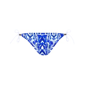 Heidi Klein Little Dix Bay Rope Tie SideBottoms Bikini - Blue/White