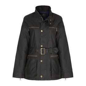 Country Attire Dursley WaxCAK021 Men's Wax Jacket - Olive