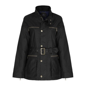 Country Attire Dursley WaxCAK021 Men's Wax Jacket - Black