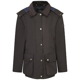 Country Attire Hetton Wax Jacket - Brown