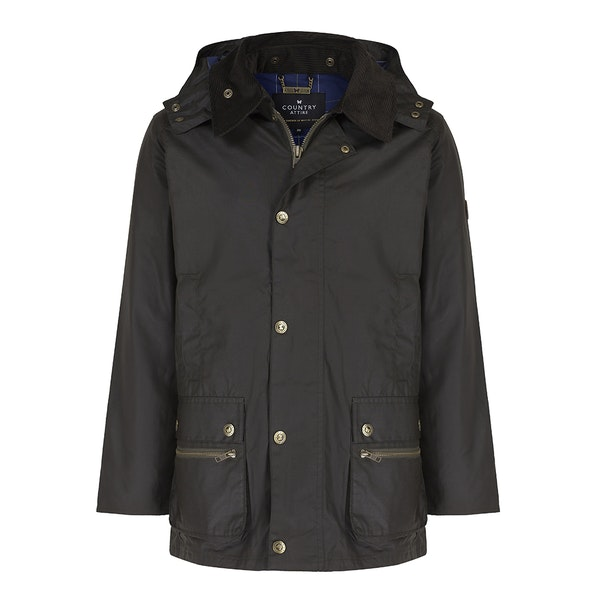 Country Attire Fowey Wax Jacket