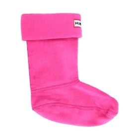 Calcetines Wellingtons Niño Hunter Original Fleece - Fuchsia