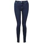 Koral Mid Rise Skinny Kvinner Jeans