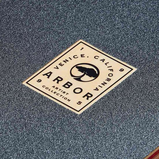 Arbor Artist Draplin Axis Complete 37 Inch Longboard