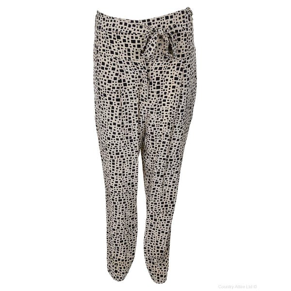 Hoss Intropia Geometric Printed Women's Trousers