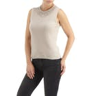 CO/AT Made in Scotland by HawicoKaisha Sleeveless Cashmere Women's Top