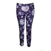 120 Lino Printed Women's Trousers