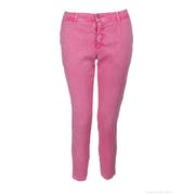 120 Lino Cropped Women's Trousers