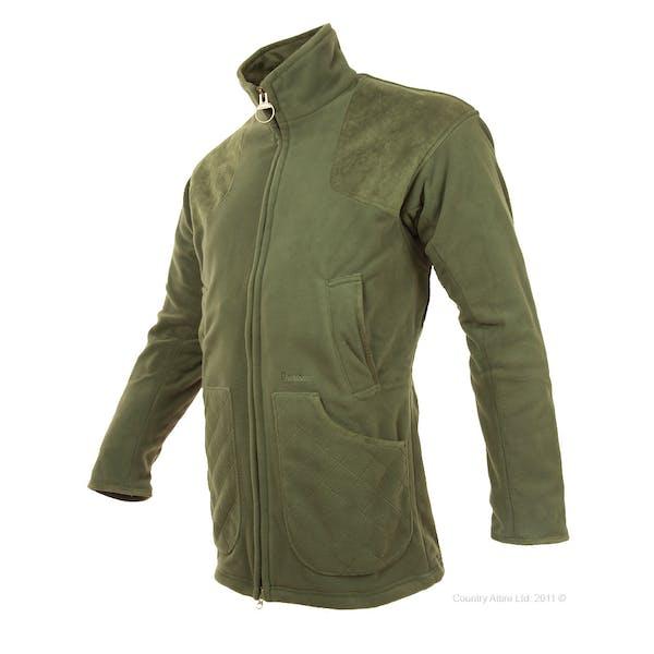 Barbour Dunmoor Fleece Men's Shooting Jacket - Olive ...