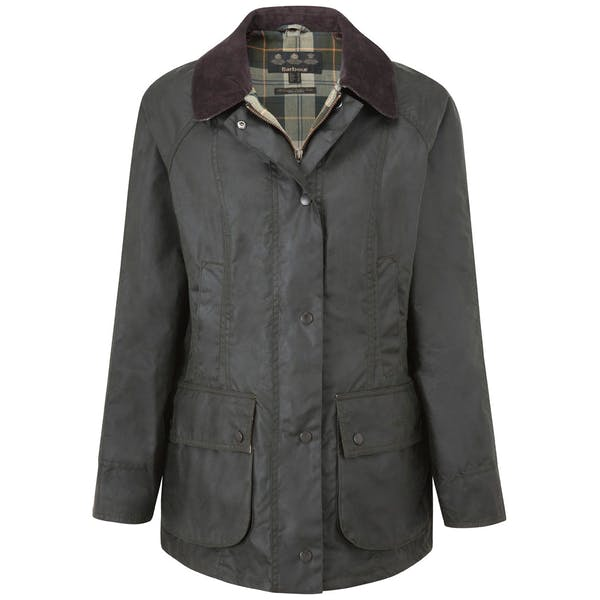 exquisite style high fashion nice cheap Barbour Beadnell Women's Wax Jacket - Sage | Country Attire ...