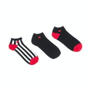Lulu Guinness 3 Pack Continuity Secret Women's Socks