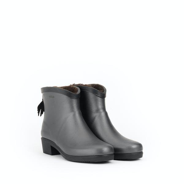 Aigle Miss Juliette Bottillon Fur Women's Wellington Boots
