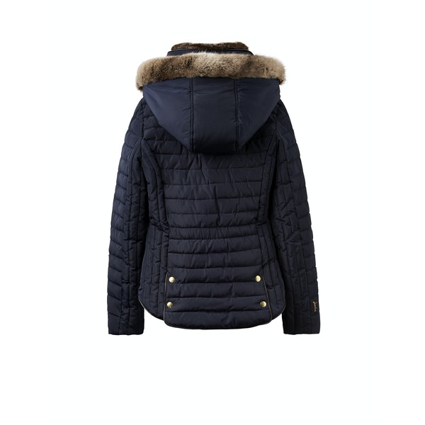 official photos best cheap uk cheap sale Joules Gosling Padded Women's Jacket - Marine Navy   Country ...