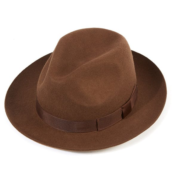 well known cheap price presenting Christys Hats Chepstow Wool Felt Men's Hat - Brown | Country ...