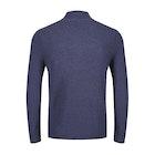 Lyle & Scott Moss Stitch Zip Sweater