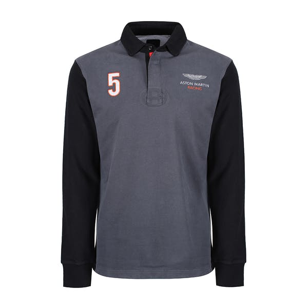 Hackett Amr Multi Rugby Top