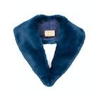 Troy London Faux Fur Lapel Collar Damen Schal