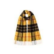 Johnstons Of Elgin 100% Cashmere New Size Tartan Sjaal