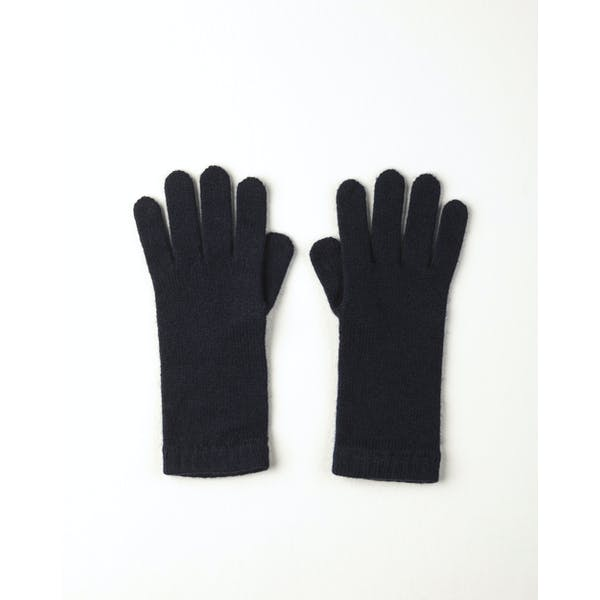 Johnstons Of Elgin 100 Cashmere With Short Cuff Gloves