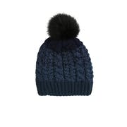Dents Graduated Cable Marl Hat Women's Beanie