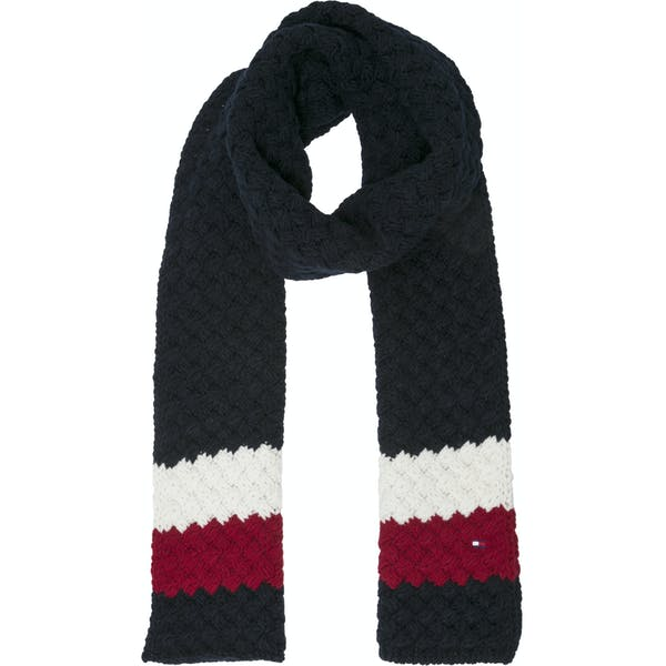 Tommy Hilfiger Tommy Bubble Knit Sjaal