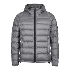 Shackleton Mie Henry Hooded Down Jacket - Charcoal