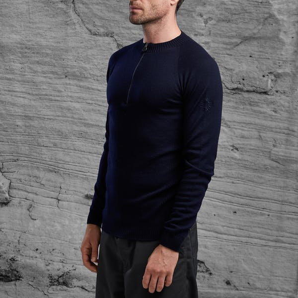 Shackleton Mie Midweight 1/4 Zip Sweater