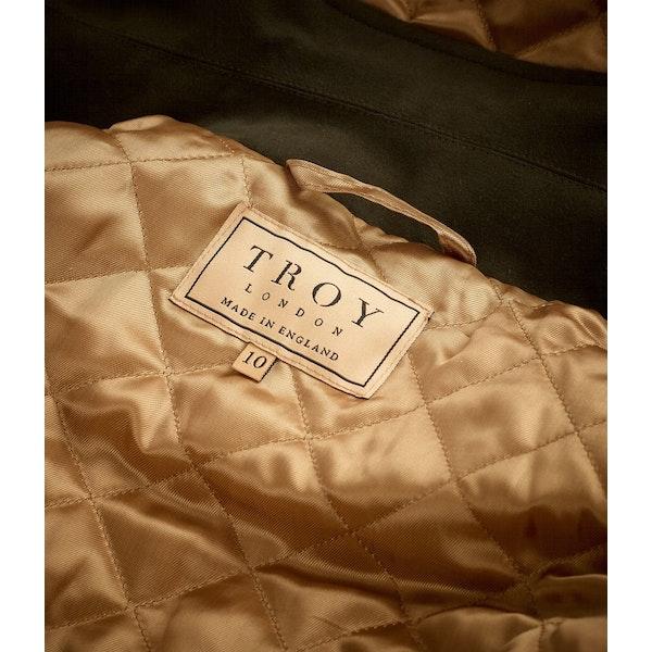 Troy London Field Coat Made In England Women's Waterproof Jacket