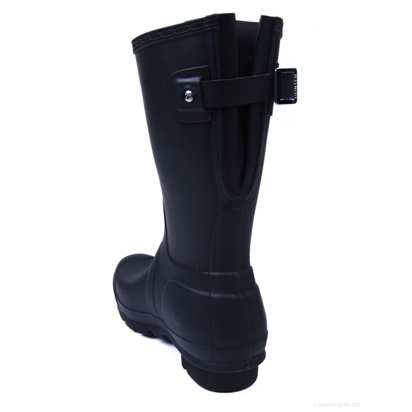 Hunter Original Back Adjustable Short Женщины Резиновые сапоги