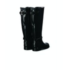 Hunter Refined Back Adjustable Tall W/ Ankle Strap Gloss Women's Wellington Boots