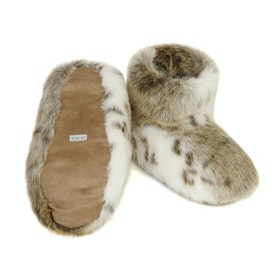 Helen Moore Boot Women's Slippers - Lynx