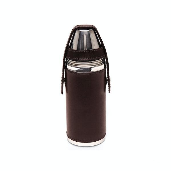 Ettinger 8oz Hunter's With 4 Cups Feltflaske