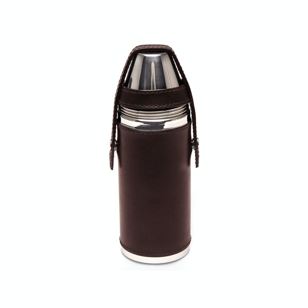 Ettinger 8oz Hunter's With 4 Cups Flaske