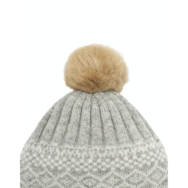 Joules Elsa Fair Isle Women's Hat