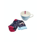 Joules Mug and Bamboo Socks Damen Gift Set