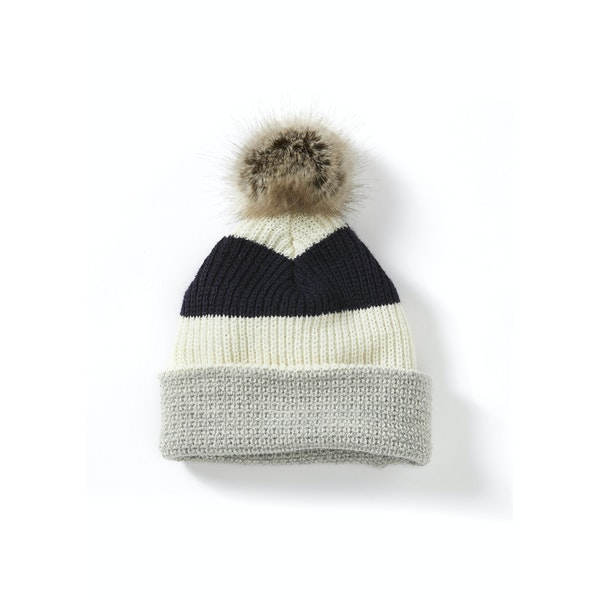 Peregrine Made In England Stripe Womens ビーニー