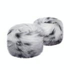 Helen Moore Wrist Faux , Fur Cuffs Dam