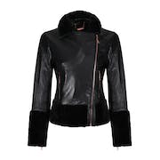 Leather Jacket Mujer Ted Baker Rosania