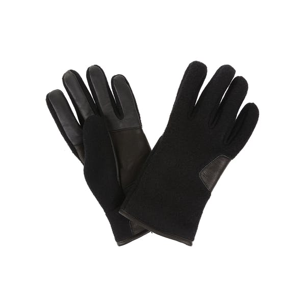 UGG Fabric And Leather Gloves